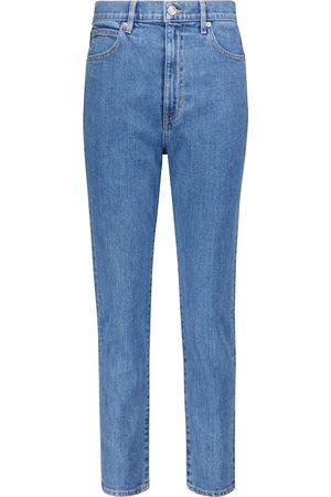 SLVRLAKE Jeans ajustados Beatnik cropped