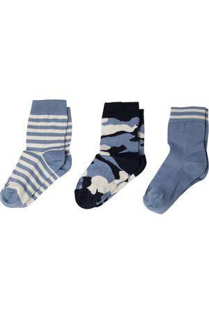 Il gufo Set de 3 calcetines de algodón