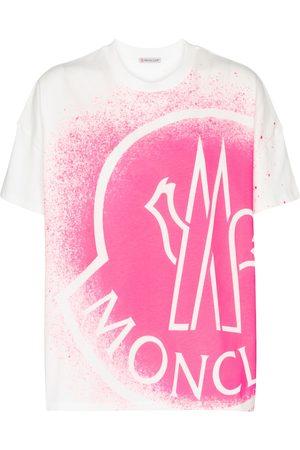 Moncler Camiseta de algodón con logo