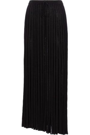 CHRISTOPHER ESBER Mujer Midi - Falda midi de punto plisada