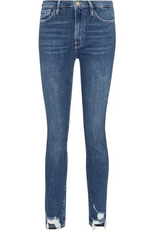 Frame Jeans Le Skinny de Jeanne tiro alto