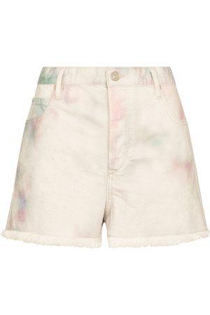 Isabel Marant, Étoile Shorts Lesiabb de jeans con tie-dye