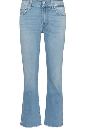 7 for all Mankind Jeans Cropped Boot de tiro medio