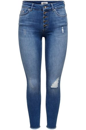 ONLY Mujer Cintura alta - ONLBOBBY LIFE MID ANKLE SKINNY FIT JEANS