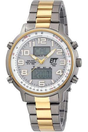 ETT Eco Tech Time Reloj analógico EGS-11345-23M, Quartz, 48mm, 10ATM para hombre