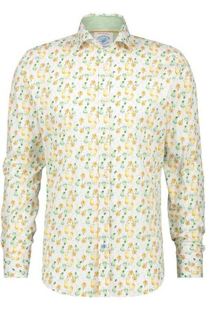 A fish named fred Camisa manga larga peces sombra para hombre