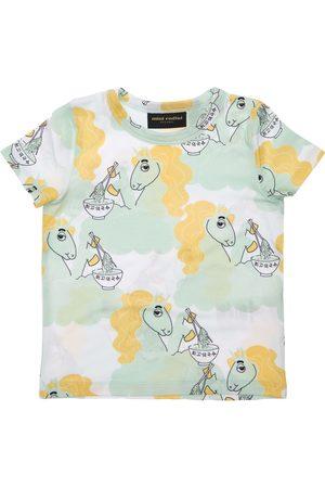 Mini Rodini | Niña Camiseta De Lyocell Con Estampado De Unicornios 80-86cm