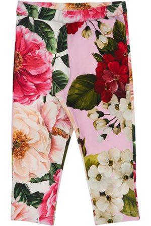 Dolce & Gabbana   Niña Leggings De Algodón Interlock Estampados 12-18m