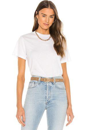 AGOLDE Camiseta rena en color talla L en - White. Talla L (también en XS, S, M, XL).