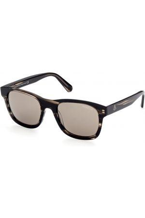 Moncler Hombre Gafas de sol - ML0192 48L Shiny Dark Brown