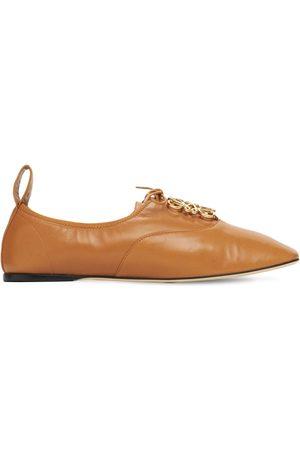 Loewe Mujer Con cordones - | Mujer Zapatos Derby De Piel Suave Con Cordones 10mm 41