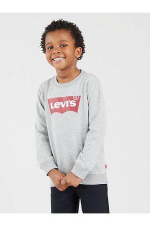 Levi's Niño Sudaderas - Kids Batwing Crew Neck Sweatshirt / Grey Heather