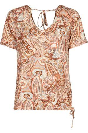 Cream Camiseta LULLA TSHIRT para mujer