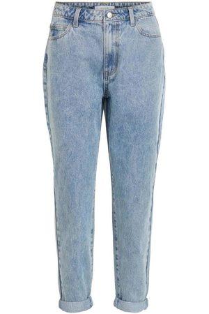 Vila Jeans VILIMONE HW 7/8 MOM JEANS para mujer