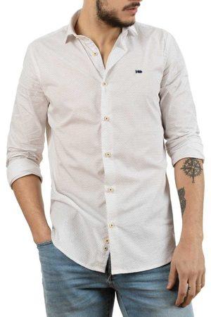 Klout Camisa manga larga CAMISA SLIM MICRO para hombre