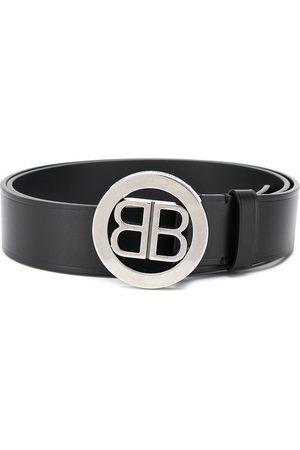 Balenciaga Hombre Cinturones - Cinturón con placa de logo BB