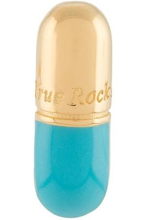 TRUE ROCKS Pendiente con diseño de píldora