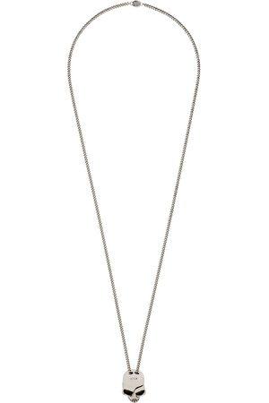 Alexander McQueen Hombre Collares - Collar con colgante de calavera