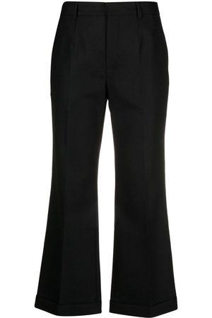 Saint Laurent Pantalones de vestir acampanados