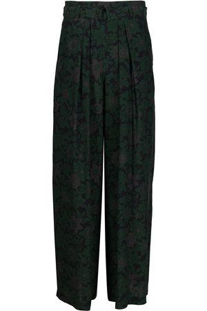 CHRISTIAN WIJNANTS Pantalones anchos con pliegues