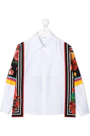 Dolce & Gabbana Camisa con detalle de fular