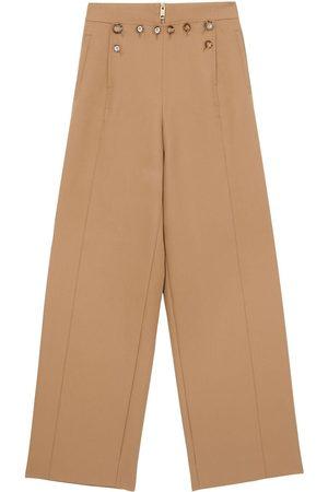 Burberry Pantalones con detalle de botones
