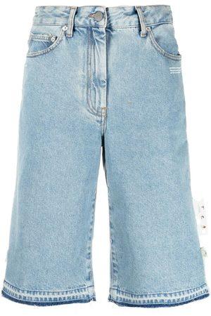 OFF-WHITE Pantalones vaqueros cortos por la rodilla