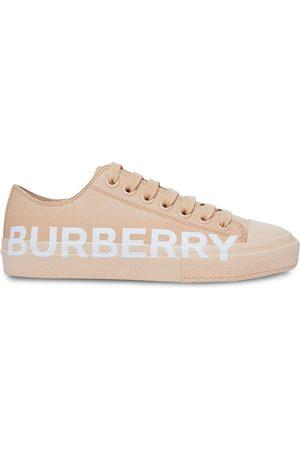 Burberry Zapatillas con cordones y logo