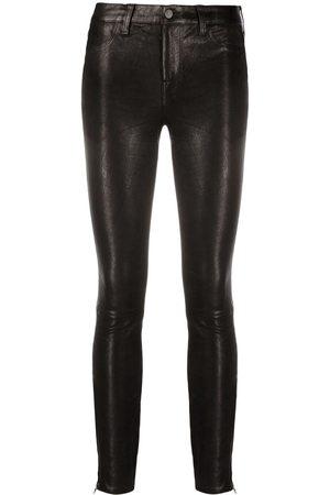 J Brand Pantalones skinny con motivo de leopardo