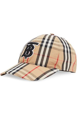 Burberry Gorra con monograma bordado