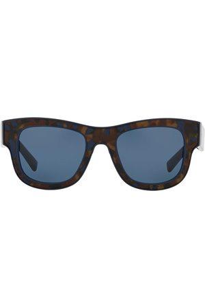 Dolce & Gabbana Gafas de sol cuadradas con efecto carey