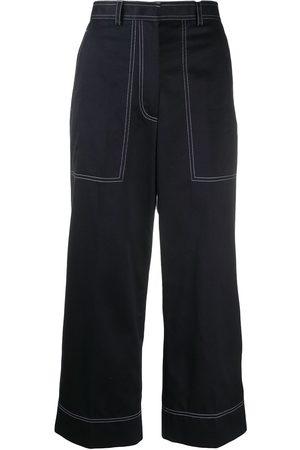 Thom Browne Pantalones capri con costuras