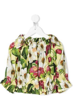 Dolce & Gabbana Blusa con estampado floral
