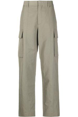 Stella McCartney Pantalones tipo cargo rectos