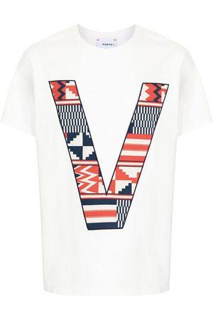 Ports V Camiseta con logo V