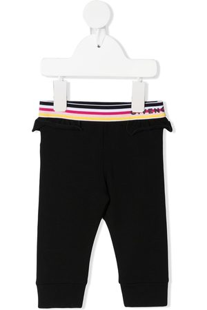 Givenchy Pantalones con logo en la cinturilla