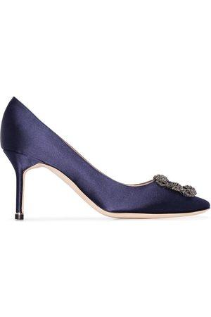 Manolo Blahnik Zapatos de tacón Hangisi 70