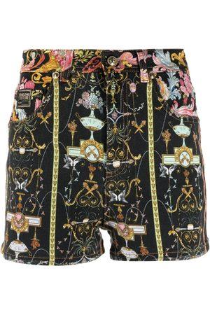 VERSACE Shorts con estampado Barocco
