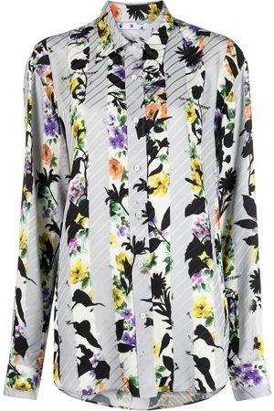 OFF-WHITE Camisa con estampado floral
