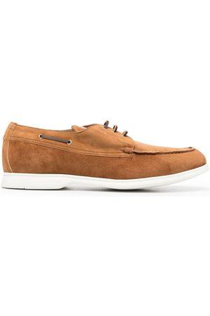 Kiton Zapatos náuticos de ante