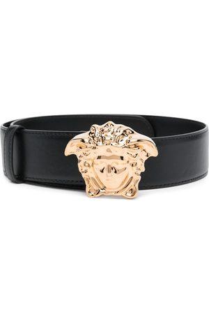 VERSACE Cinturón con hebilla de cabeza de Medusa