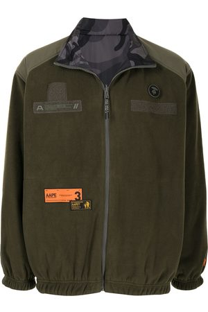 AAPE BY A BATHING APE Chaqueta con paneles impermeables