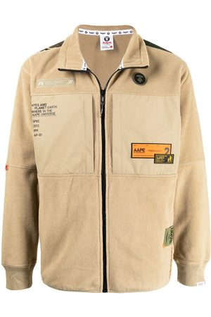 AAPE BY A BATHING APE Chaqueta con parches