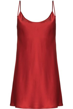 La Perla Slip dress con cuello redondo