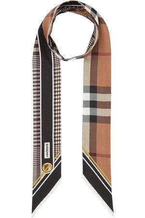 Burberry Bufandas y Pañuelos - Fular con motivo Vintage Check
