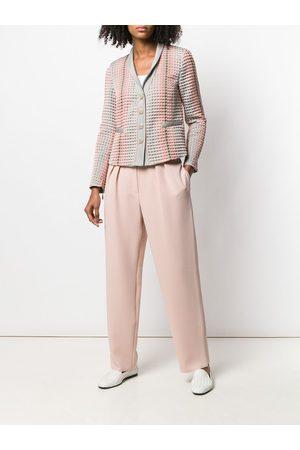 Emporio Armani Pantalones con detalles de pliegues