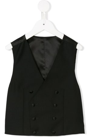 Dolce & Gabbana Chaleco de vestir con doble botonadura