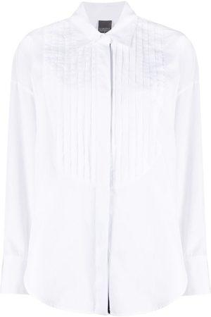 LORENA ANTONIAZZI Camisa de canalé de manga larga