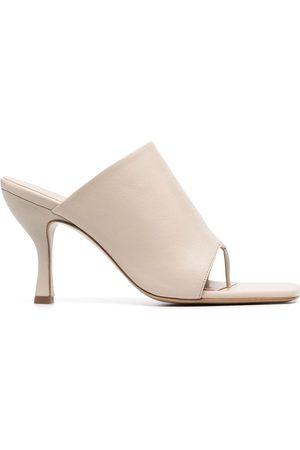 Gia Borghini Mules con tacón de 80mm de Gia Couture x Pernille Teisbaek