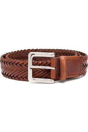 Scarosso Cinturón con diseño trenzado